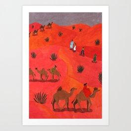 Tunesia Art Print