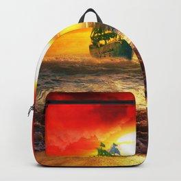 Black Pearl Pirate Ship Backpack
