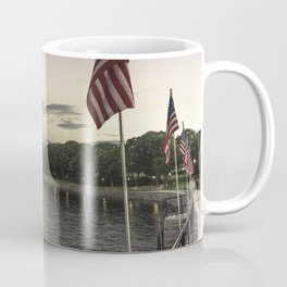 Boulevard summer sundown Coffee Mug
