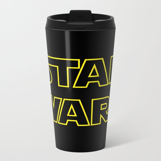 Star Logo Wars Metal Travel Mug
