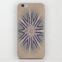 snowflake iPhone & iPod Skins featuring Snowflake by Shereen Yap