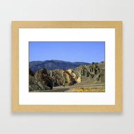 Slow Curve at the Green Mountains. UTAH JD Barrett Photography Framed Art Print