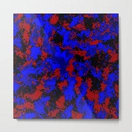 Pop Art Fluid Abstract 58 Metal Print