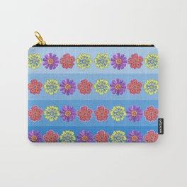 Stacks of Flowers Carry-All Pouch