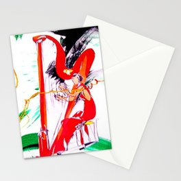 HARPIST                by Kay Lipton Stationery Cards