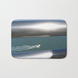 Through The Silver Rails Bath Mat