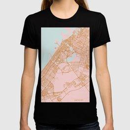 Dubai map, United Arab Emirates T-shirt