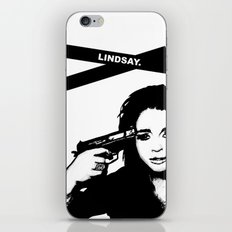 Lindsay Lohan. iPhone & iPod Skin