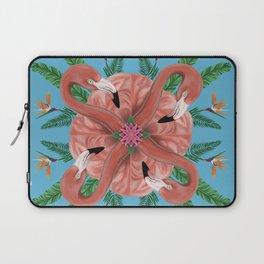 Flamingo Tropical Mandala Laptop Sleeve