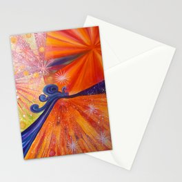 Journey oft the snail up the mountain Stationery Cards