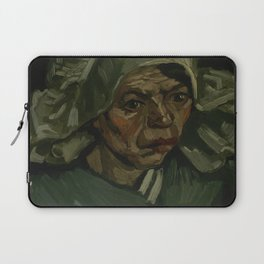 Head of a Woman Laptop Sleeve
