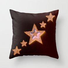 Stars Diagonal Throw Pillow