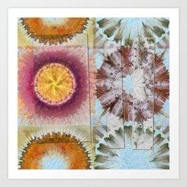 Tacheometry Natural Flower  ID:16165-065451-00761 Art Print