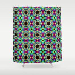 Geometric Colors 2 Shower Curtain
