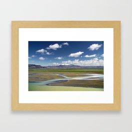 Hekla I Framed Art Print
