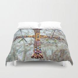 Asturias Christ's cross Duvet Cover