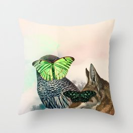 C. nebulosa Throw Pillow