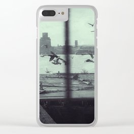 The Freedom of the City Clear iPhone Case
