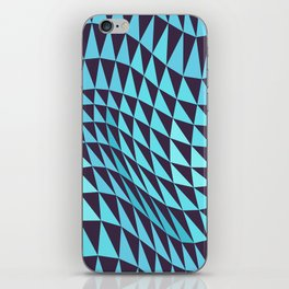 Abstract Seamless Triangles and Waves Pattern iPhone Skin