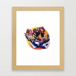 Alpha & Omega Framed Art Print