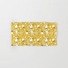 Holiday Floral Gold   #holiday #Christmas Hand & Bath Towel