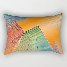 citylines -4- Rectangular Pillow