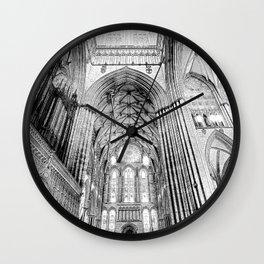 York Minster Art Wall Clock