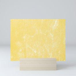 Flaxen Yellow Mini Art Print