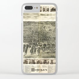City of Hoboken, New Jersey (1904) Clear iPhone Case