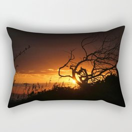 Fire in the Sky Rectangular Pillow