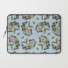 Butterflies and Camillias Laptop Sleeve