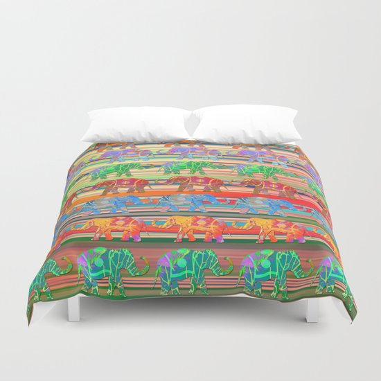 Elephant pattern Duvet Cover
