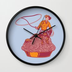 Spaghetti Western Wall Clock