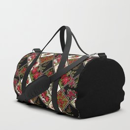 Floral folk patchwork. Ethnic Duffle Bag