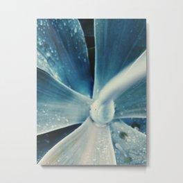 The Blueblur Plant Metal Print