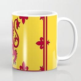 RED LION & YELLOW ROYAL BANNER OF SCOTLAND Coffee Mug