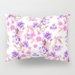 Garden Journal Purple Pillow Sham