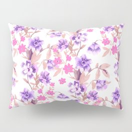 Garden Journal Purple Pillow Sham