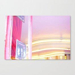 Pink in Paris 02 Canvas Print