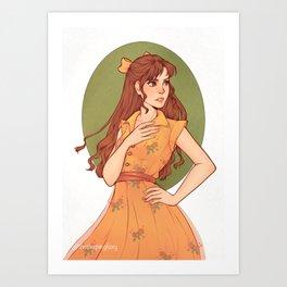 Rose   Original Artwork Art Print