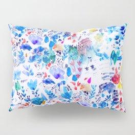 Summer Flowers Pillow Sham