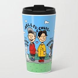 Chris and Kelley (Peanuts Homage) Travel Mug