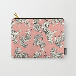 Pink Tiger Pattern 006 Carry-All Pouch
