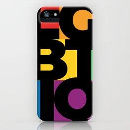 LGBTIQ+ PRIDE LOVE COMMUNITY iPhone Case