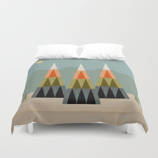 Clear Skies Duvet Cover
