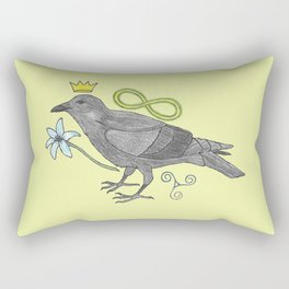 Crowns and Birds, Swords and Things Rectangular Pillow