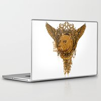pitbull Laptop & iPad Skins featuring Pitbull by Tshirt-Factory