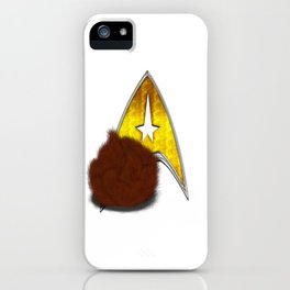 StarTrek Command Signia Shaggy Tribble iPhone Case