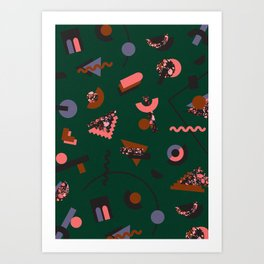 When you're in outer space Art Print