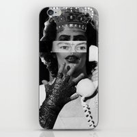 rocky horror iPhone & iPod Skins featuring Rocky Horror Queen by Marko Köppe